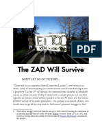 The ZAD Will Survive – Zad for Ever