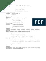 Guía de Análisis Gramatical