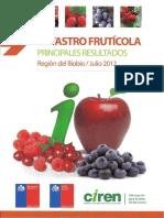 estadisticas fruticolas biobio