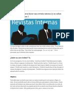 Un Poco de Informacion Revista Interna