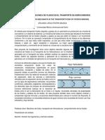 Resumen de Las Aplicaciones de La Mecanica de Fluidos en El Transporte de Hidrocarburos