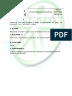 Formato Manual de Procesos Gestion Hotelera