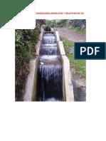 Coordenadas de Canal y Fachada