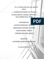 Monografía - La Delincuencia