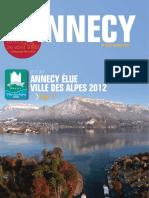 Annecy  Mag n. 219 Janvier/Fevrier (2012)