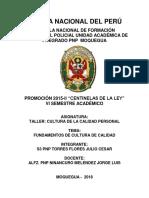 Ninancuro - Fundamentos de Cultura de Calidad- Torres Flores