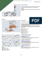 Manual Rearmado Motor Procedimientos Armado Culata Bloque Cilindros Componentes