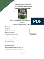 I03Extracción de Pigmentos de Las Plantas