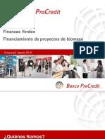 EcoCredit BPC - Biomasa