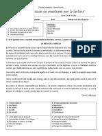 Prueba de Lenguaje y Comunicación -Unidad 1