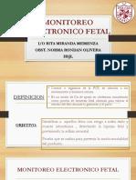 Monitoreo Electronico Fetal.pptx Internado