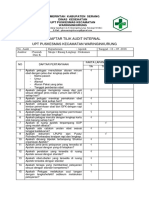 Daftar Tilik Audit Internal Unit Apotek Pkm Wk