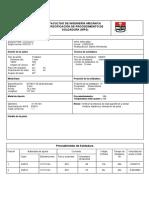 Facultad de Ingeniería Mecánica Especificación de Procedimiento de Soldadura (Wps)