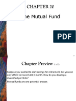 Chapter 20 Mutual Fund Industry