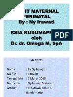 Audit Material Perinatal -Dr.dr. Omega Mellyana, Sp.a- (1)