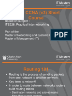 CCNA Short Course - Week 3