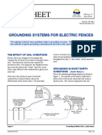 307320-1 Grounding Systems for Electric Fences