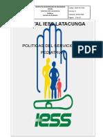 Politicas de Pediatria Revisadas Para Correccion (1)