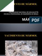 yacimiento de Marmol