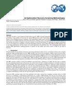 08 Dickson 2010 Development of Improved Hydrocarbon Recovery Screening Methodologies
