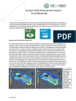 04 April 2018 GVI FIJI Achievement Report Caqalai Coral Bleaching