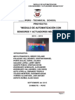 Automatizacion de Sensores