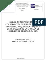 MANUAL DE MANTENIMIENTO GENERAL EMPRESA DE ENERGÍA DE BOGOTÁ S.A ESP.pdf