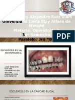 Esclerosis en La Odontologia