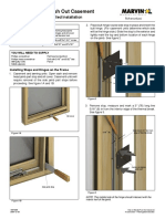 Marvin Push-Out Casement Screen