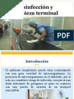 Desinfección  y Limpieza Terminal ppt