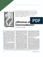 Eliminar Al Intermediario