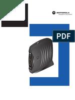 Motorola SBV5120 User Guide Spanish