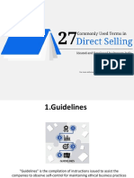 27 Commonly Used Terms in Direct Selling