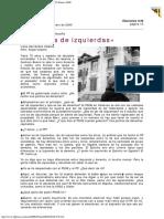 2000 - Gustavo Bueno - Aznar Es de Izquierdas El Mundo 29 Febrero 2000