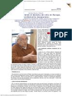 2003 - Gustavo Bueno - Si España Pierde El Derecho de Veto en Europa, Sencillamente Desaparece. La Nueva España