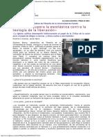 1998 - El Papa Recupera La Escolástica Contra La Teología de La Liberación La Nueva España