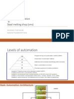 Automation in a steel plant PPT