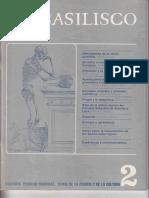 1978 - 4 - En Torno Al Concepto de Ciencias Humanas. El Basilisco, Número 2, Mayo-junio 1978