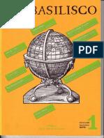 1989 - 22 -La Teoría de La Esfera y El Descubrimiento de América. El Basilisco, Número 1, Septiembre 1989.