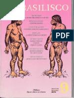 1991 - 34 - La Etología Como Ciencia de La Cultura. El Basilisco, Número 9, 1991