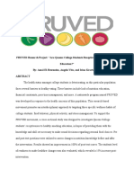 fruved research project abstract