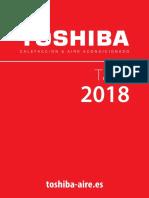 201805 Toshiba Aire Acondicionado Tarifa Reducida 2018
