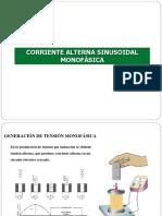 Corriente Alterna Sinusoidal Monofásica
