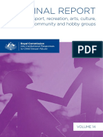 Royal Commission into Institutional Responses to Child Sexual Abuse - Volume 14