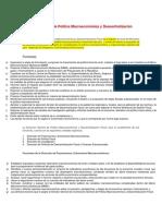 Dirección General de Política Macroeconómica y Descentralización Fiscal