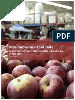 Food-Banks - Social Innovation