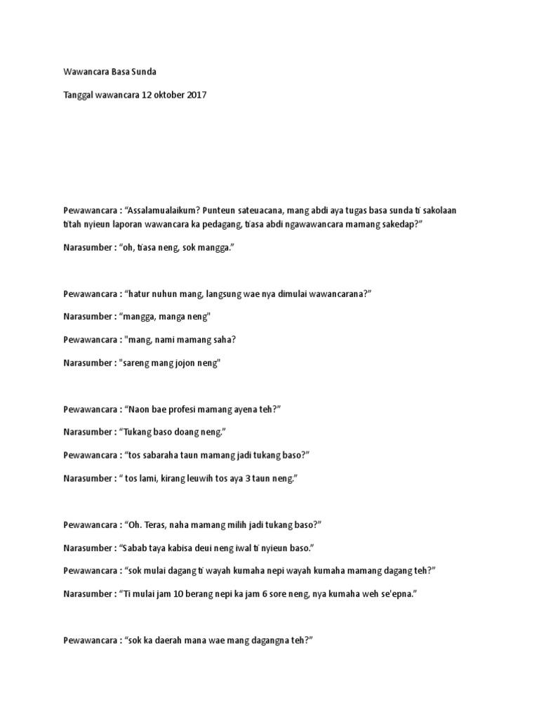 Laporan Wawancara Basa Sunda Ilmusosial Id
