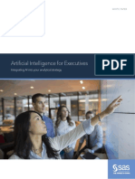 SAS Artificial Intelligence for Executives 109066