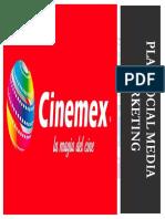 Plan Social Media Marketing Cinemex