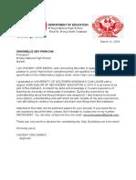 Application Letter 2